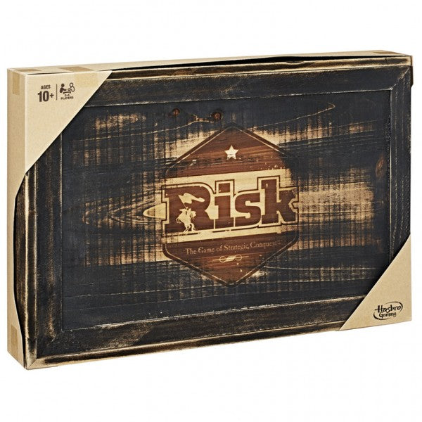 Risk: Rustic Edition Board Game