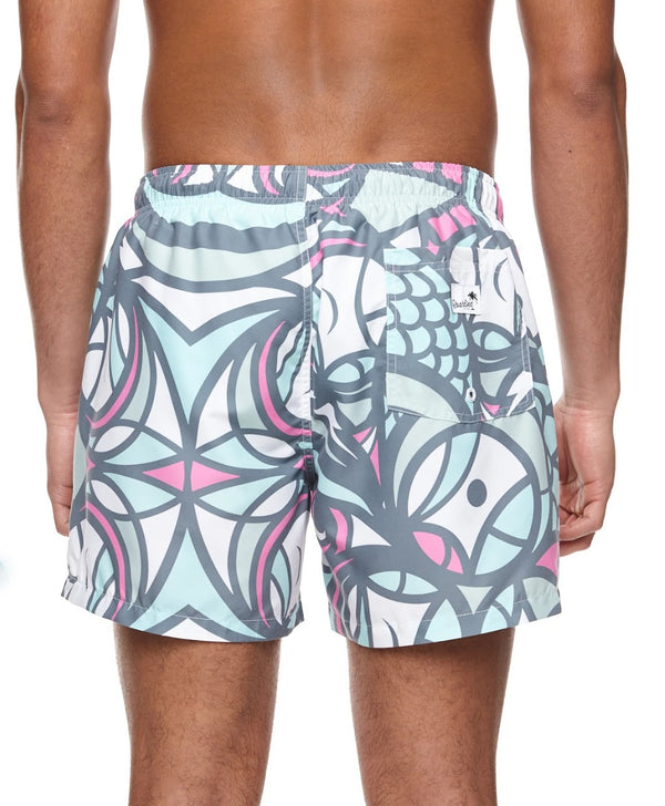 Boardies Don Pendleton fish Mid length swim short