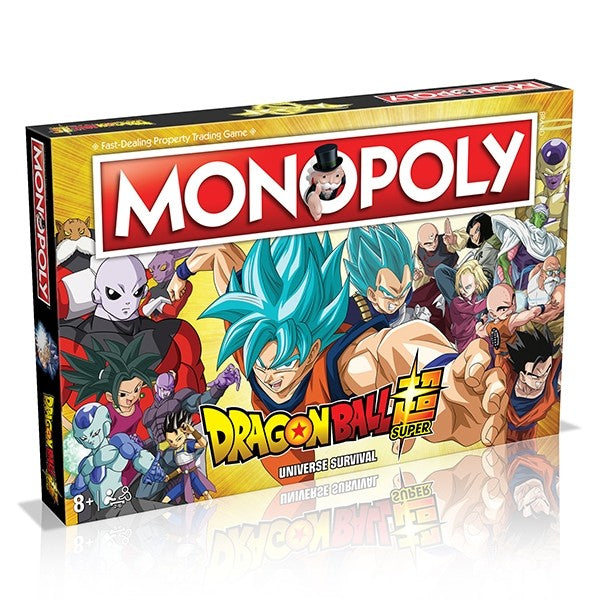 Monopoly Dragon Ball Z Super Monopoly Edition Board Game