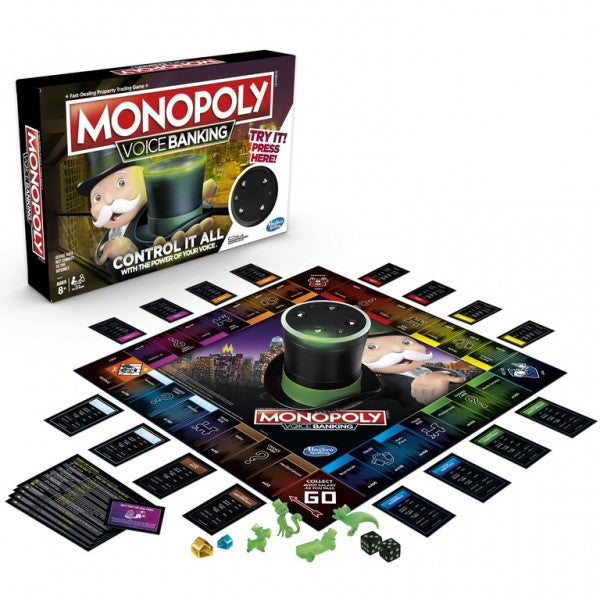 Monopoly Voice Banking Electronic Edition Board Game