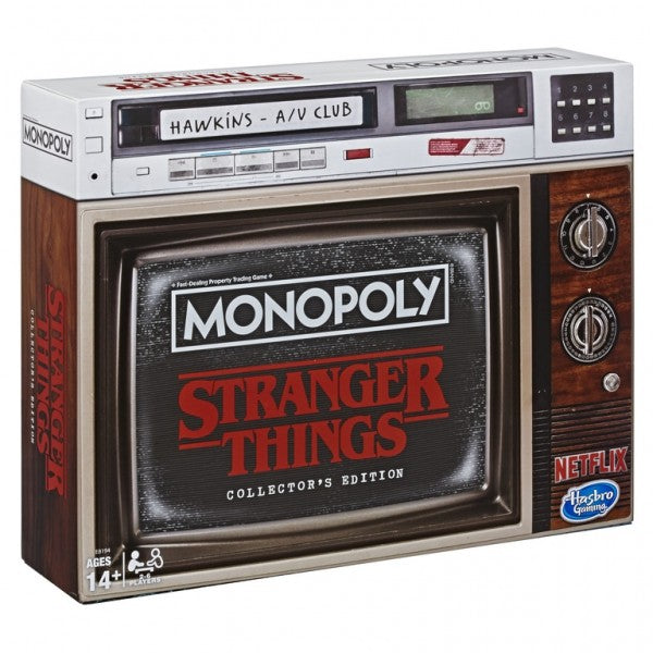 Monopoly Stranger Things Collectors Edition Board Game