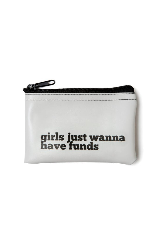 Girls just wanna have funds Zip tote