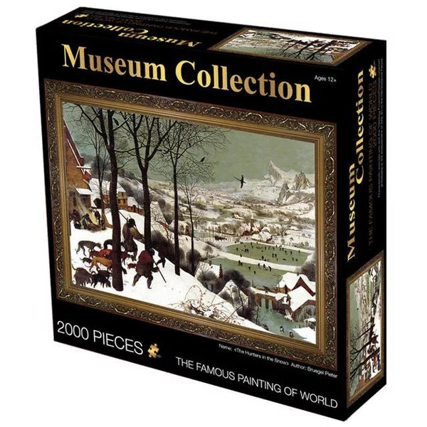 Hunters in the Snow - 2000 pieces Jigsaw Puzzle