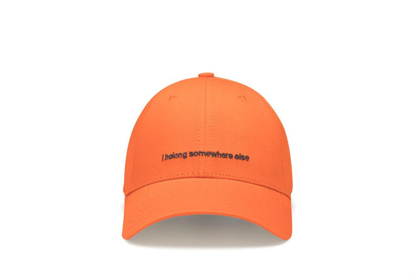 I belong orange cap