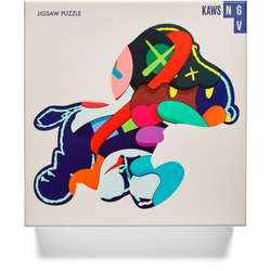"KAWS x NGV ""Stay Steady"" Jigsaw puzzle Snoopy 1000 Pieces"