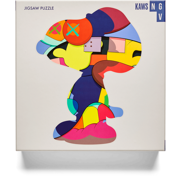"KAWS x NGV ""No One's Home"" Jigsaw puzzle Snoopy 1000 Pieces"