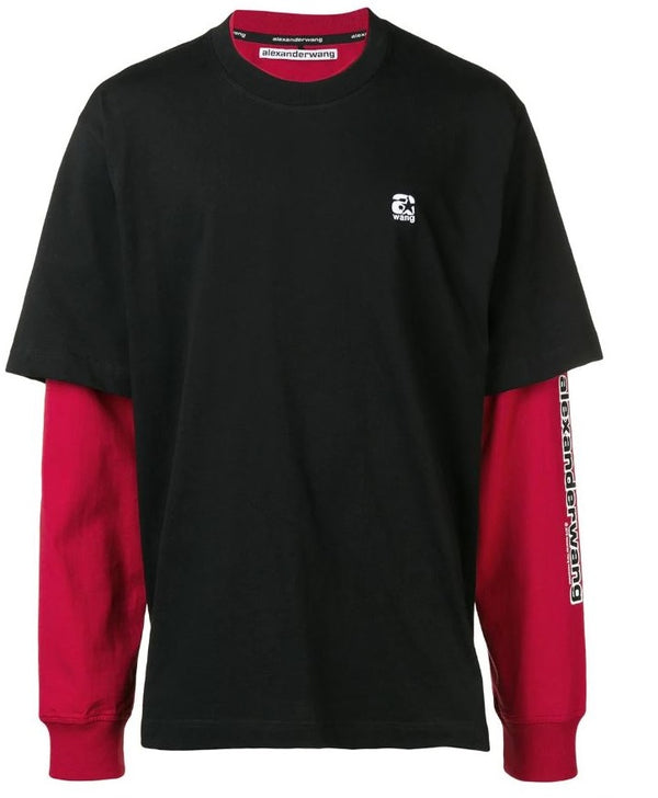 ALEXANDER WANG 7X3 KNIT T-SHIRT