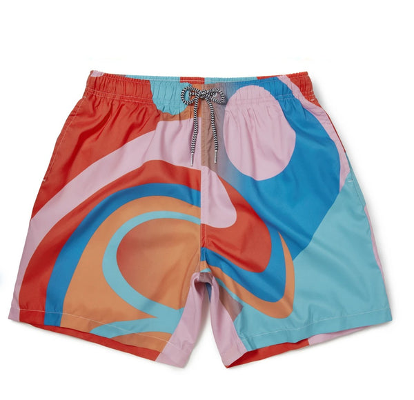 Boardies Lois ohara wave Mid length swim short