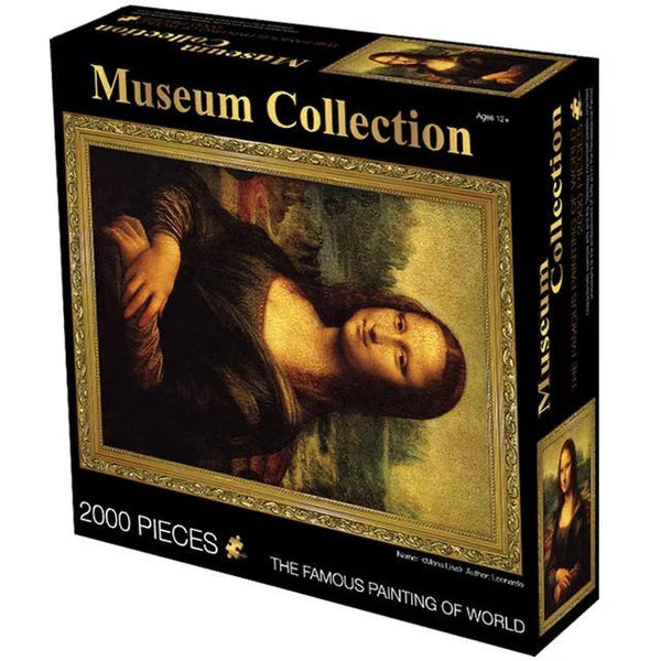 Mona Lisa - 2000 pieces Jigsaw Puzzle