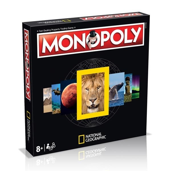 Monopoly National Geographic Edition Board Game