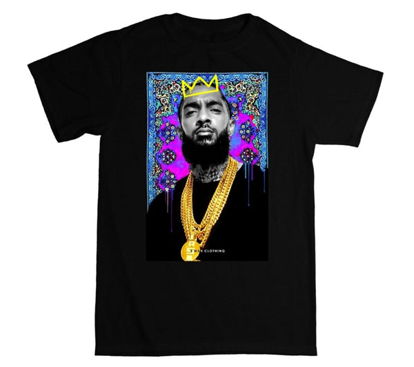 Nipsey blue T-shirt