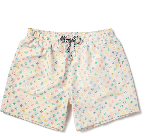 Boardies Parasols Mid swim short