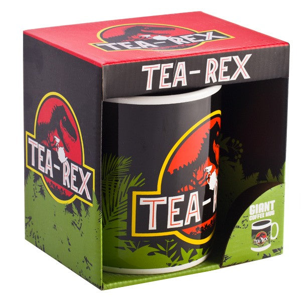 Tea Rex Dinosaur Giant Coffee Mug