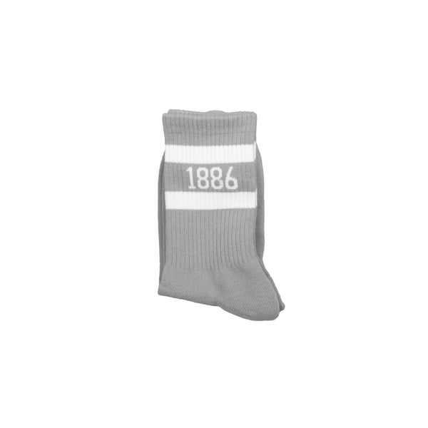 1886 Grey and White Socks