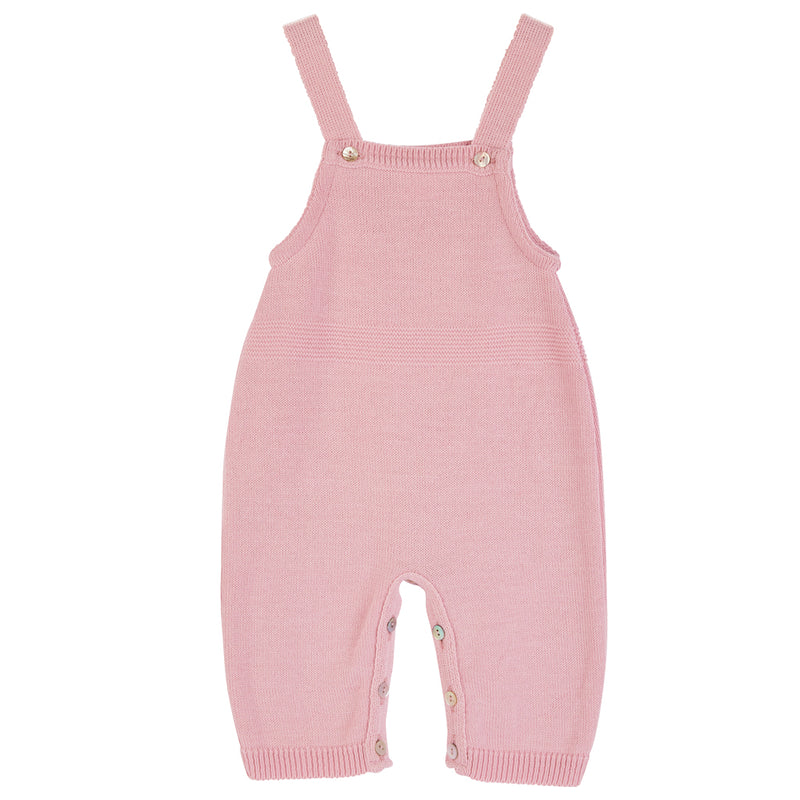 Dusty Pink Knitted Romper