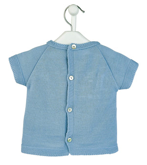 Boys Blue 'Bunny' Top & Shorts
