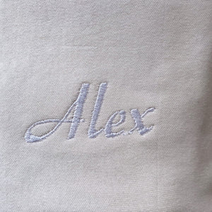 Personalised Stone Embroidered Lounge Set