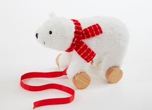 Christmas Polar Bear Pull Along