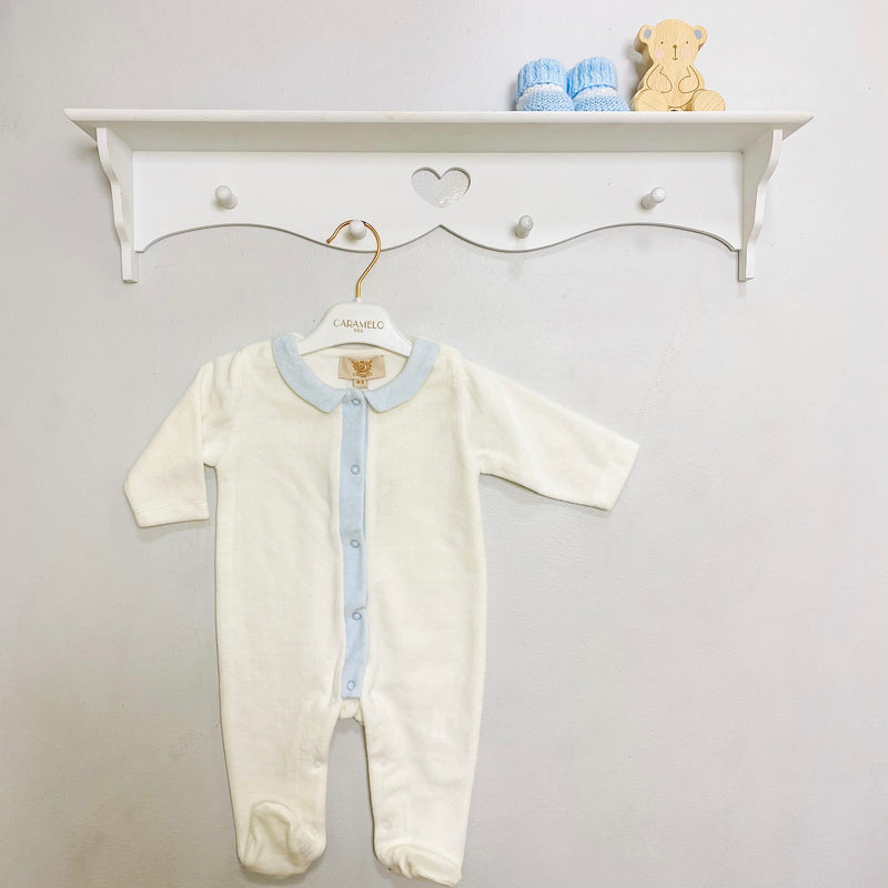 Ivory Sky Angel Wings Sleepsuit