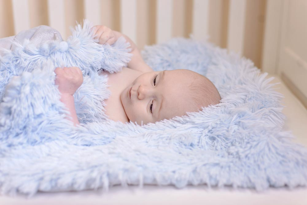 Koochicoo Blanket - Powder Blue