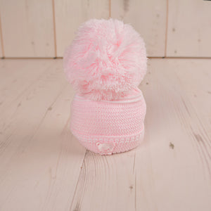 Girls First Size Teddy Embroidered Hat
