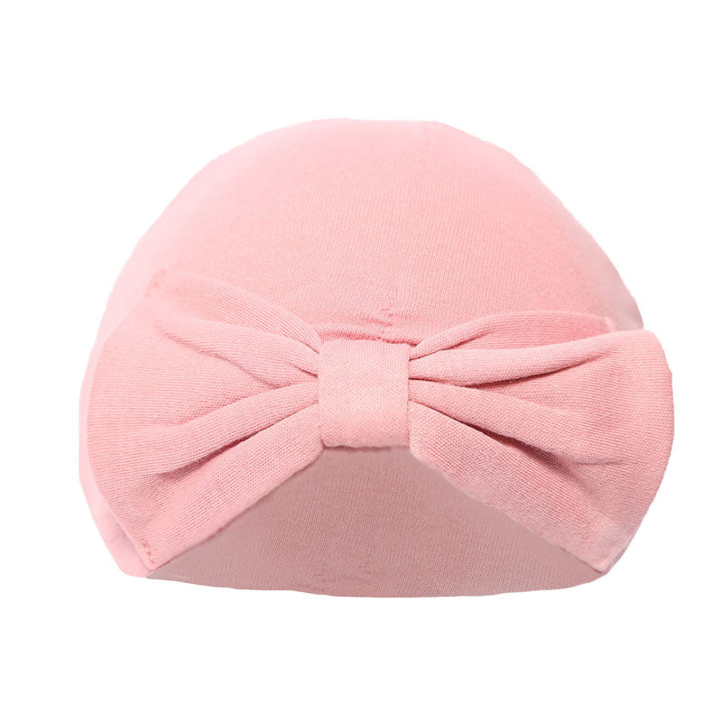 Rose Pink Turban Hat