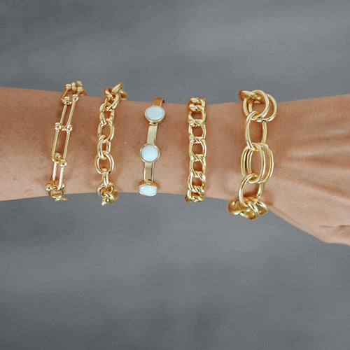 Pulsera Oval Links