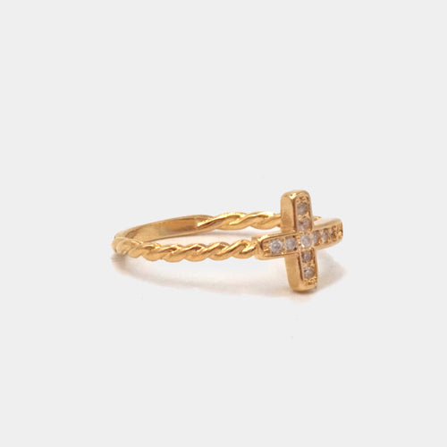 Anillo Small Cross