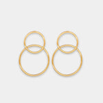 Pendientes Two Rings