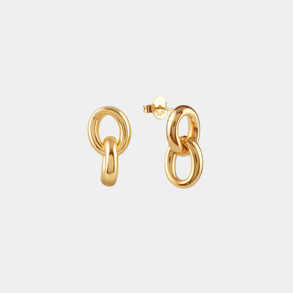 Pendientes Links Oval