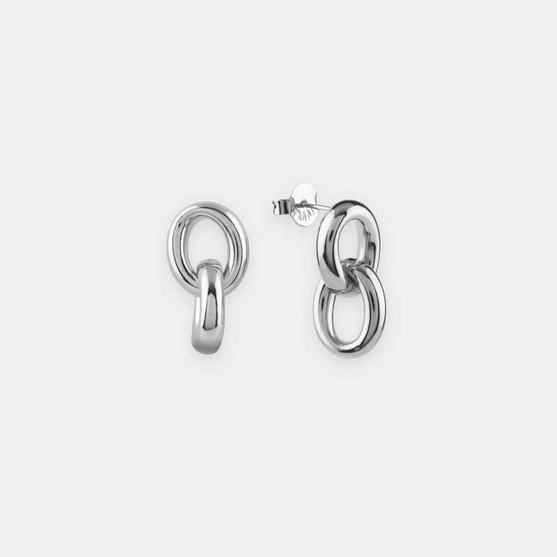 Pendientes Oval Links