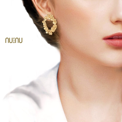 Crown Earrings - Earring - NUNU-BCN