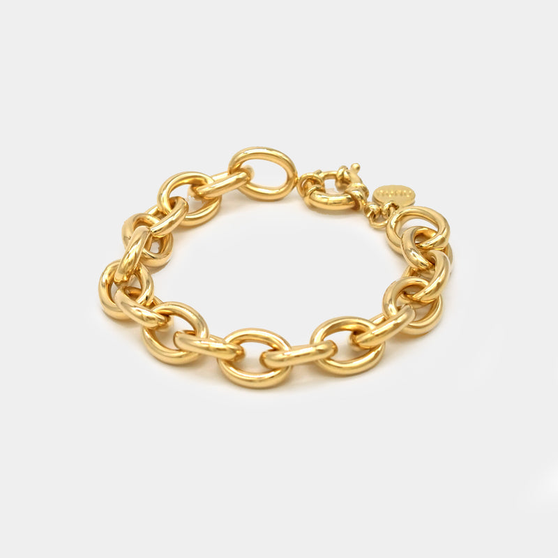 Pulsera Oval Links - Pulsera - NUNU-BCN