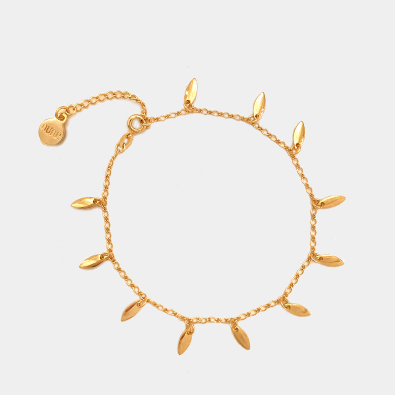 Leafs Anklet