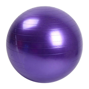 fitness ball violet
