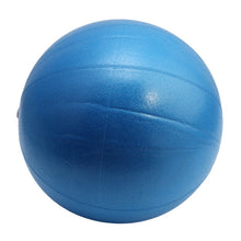 fitness ball bleu