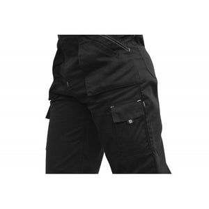 Cargo Daytona Black Trousers