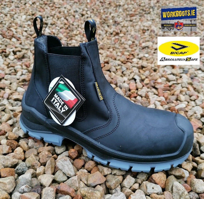 Bicap Black Dealer Safety Boot