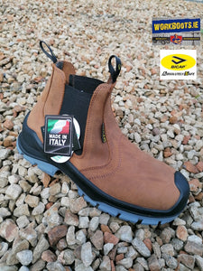 Bicap Brown Dealer Safety Boot