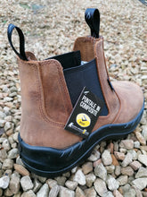 Bicap Vintage Tan Safety Boot