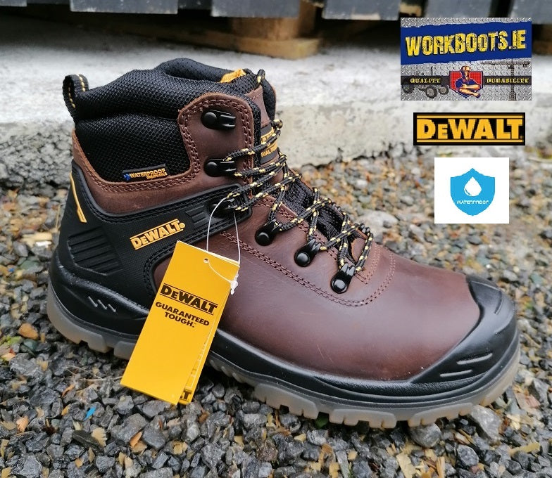 Dewalt Newark Brown Waterproof Safety Boot