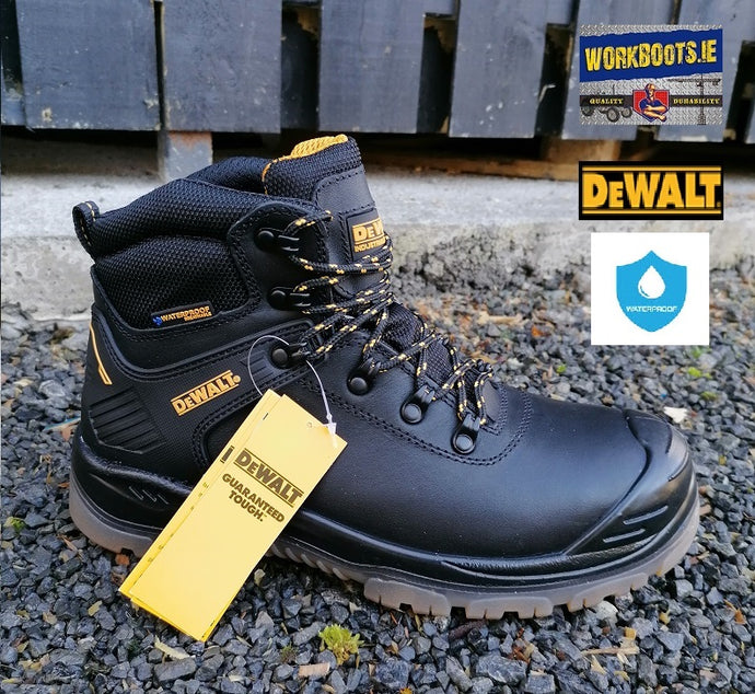 DeWalt NEWARK Black Waterproof Safety Boot