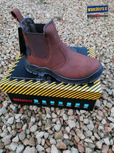 Impact Junior Waxy Brown Safety Boot