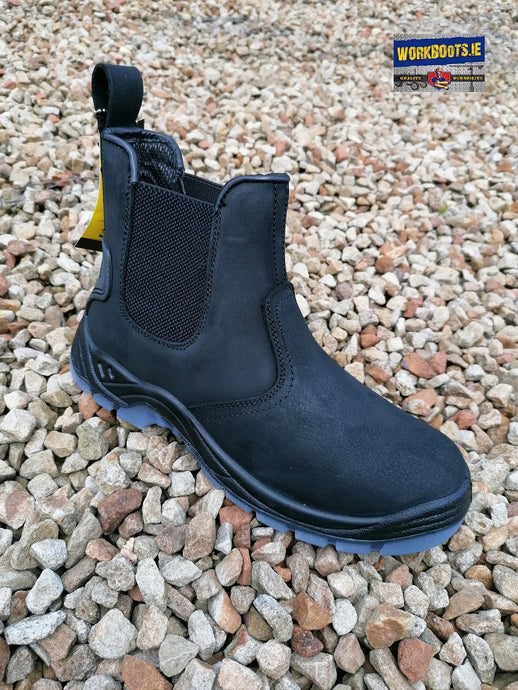 Impact NUBUCK Black Leather