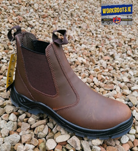 RGP Brown Non Steel Toe Dealer Boot