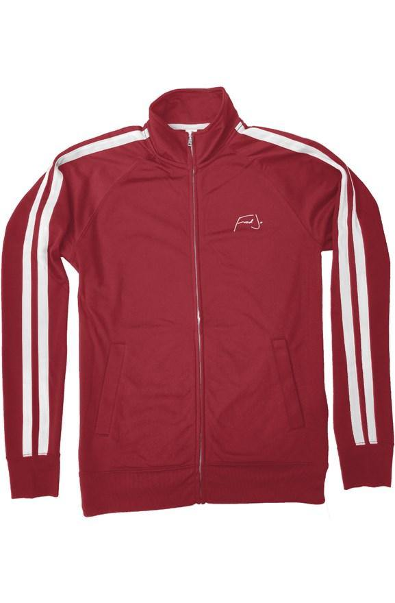 Fred Jo Track Jacket Red - Fred jo Clothing