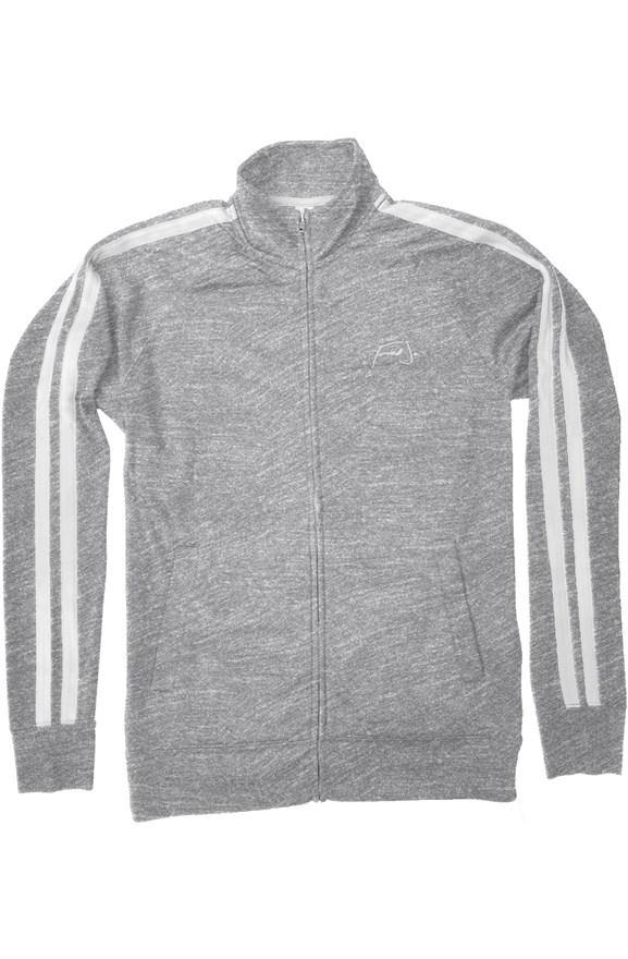 Fred Jo Track Jacket Grey - Fred jo Clothing