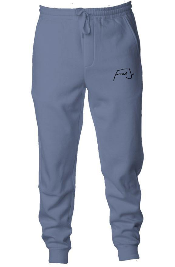 Fred Jo Pigment Dyed Fleece Joggers - Fred jo Clothing