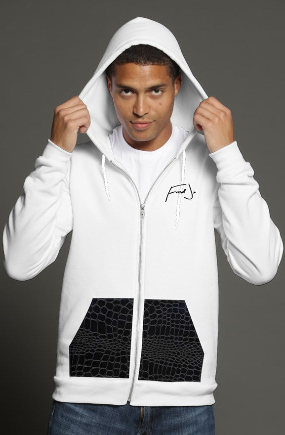 Fred Jo Zip hoodie - Fred jo Clothing
