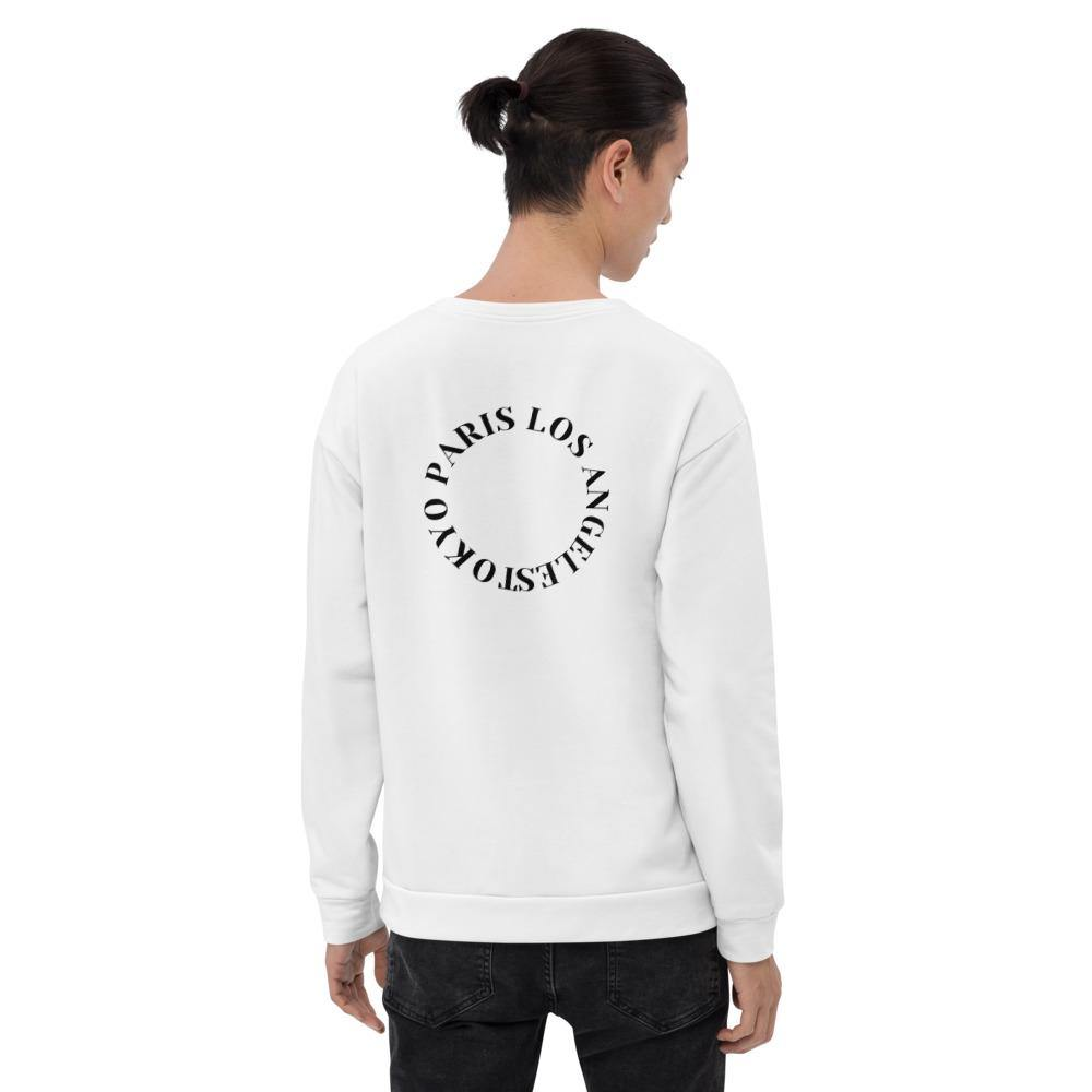 Fred JO Unisex Sweatshirt TOKYO PARIs LOS ANGELES Limited Edition - Fred jo Clothing